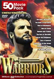 warriors - 50 movie pack